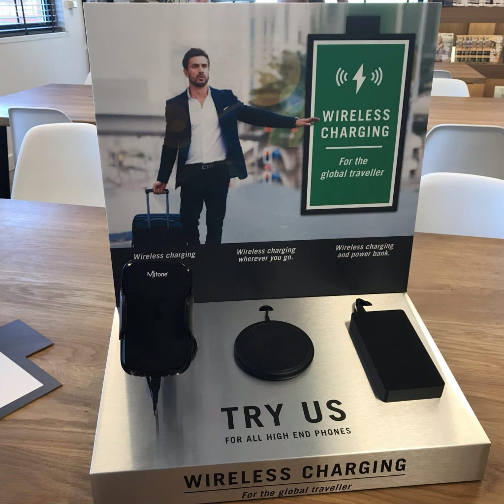 signing Wireless Charging