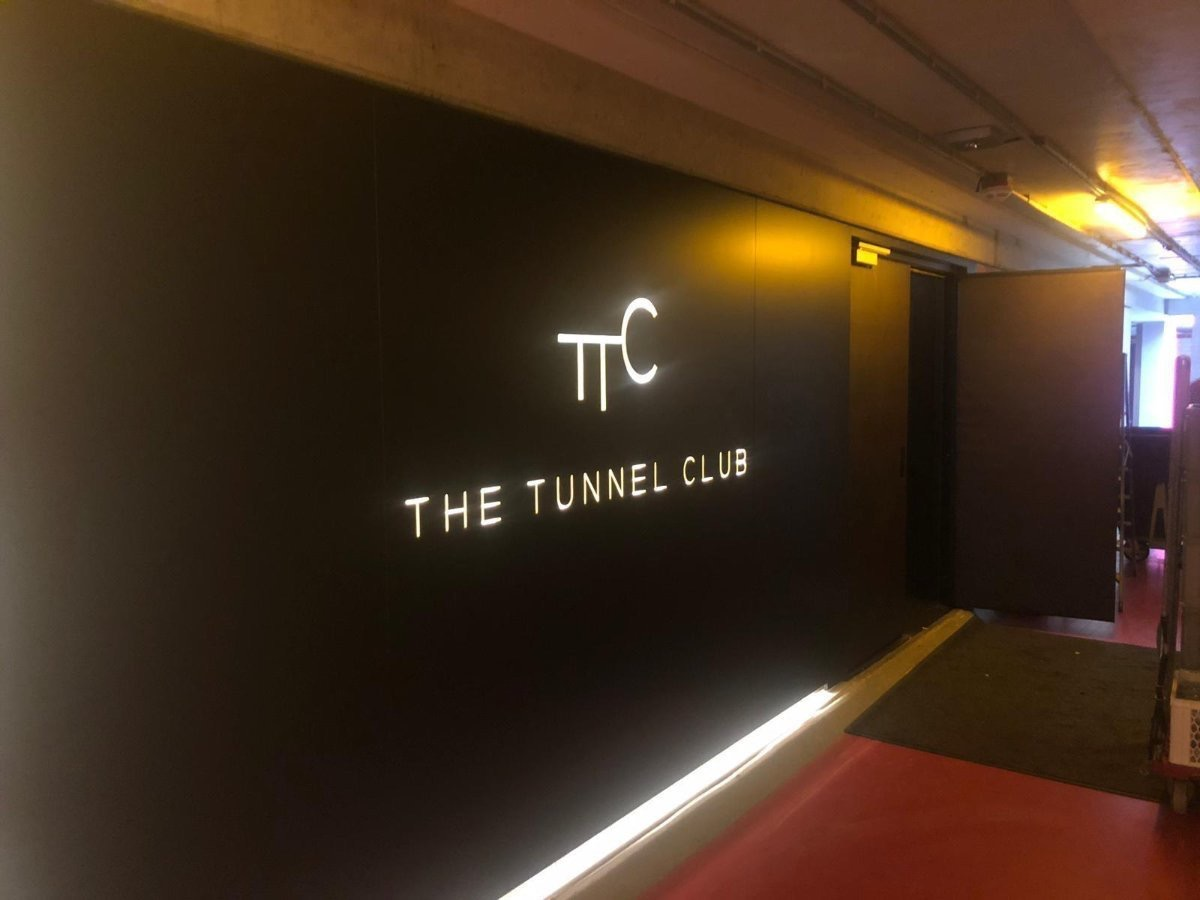 The Tunnel Club signing